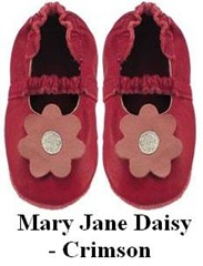 Mary Jane Daisy - Crimson