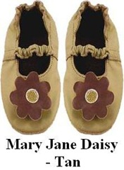 Mary Jane Daisy - Tan
